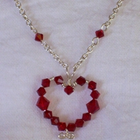 Image: Heart Pendant Necklace